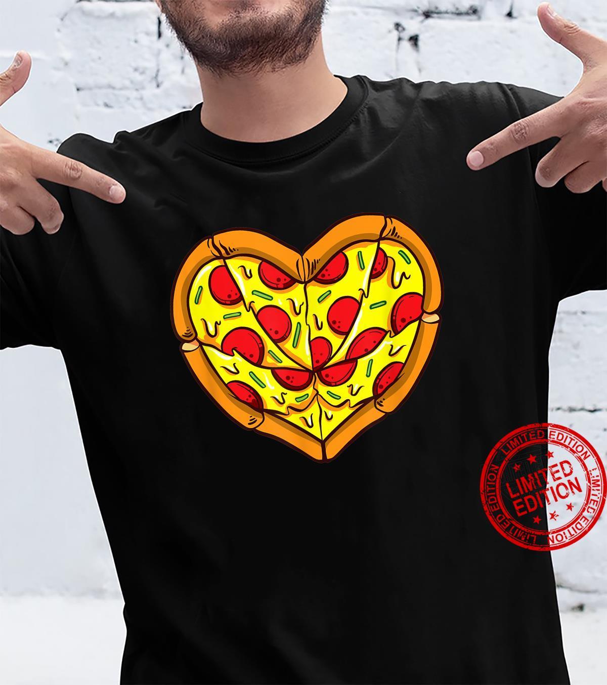 Pizza Is My Valentine Valentines Day Shirt