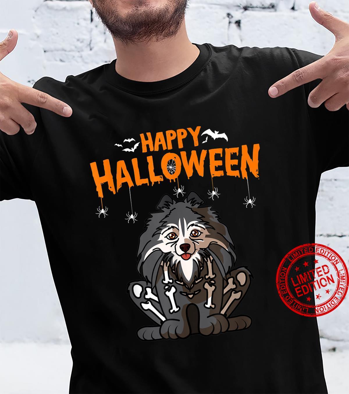 Pomeranian Halloween Costume Dog Owner Shirt