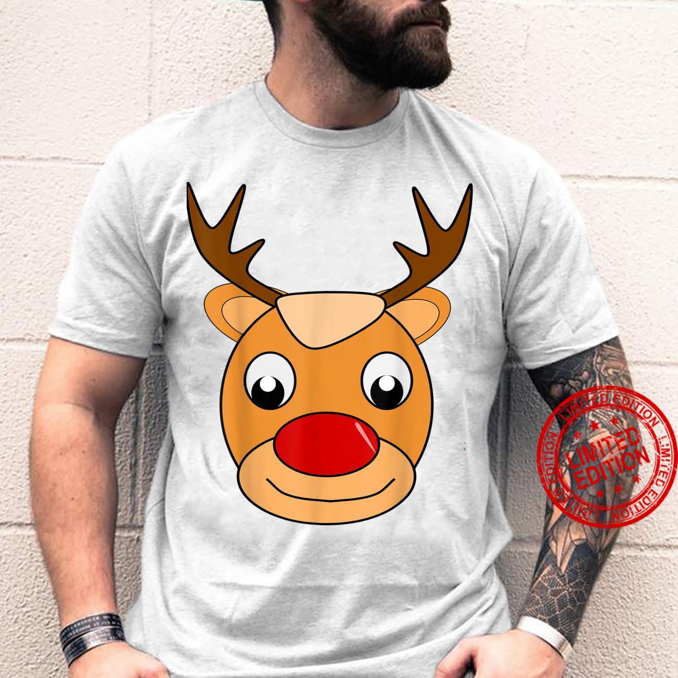 Red Nose Reindeer Shirt