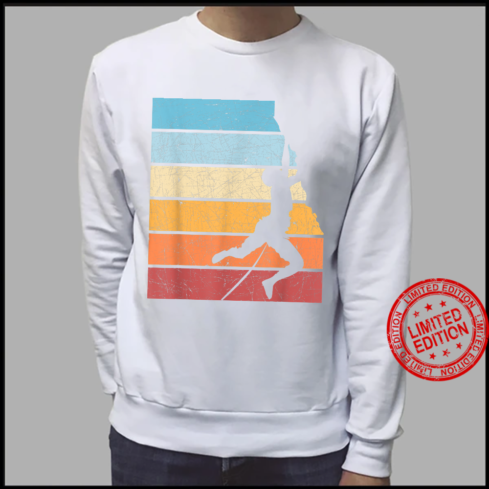 Retro Rock Climber Bouldering Boulder Climb Hobby Climbing Shirt sweater