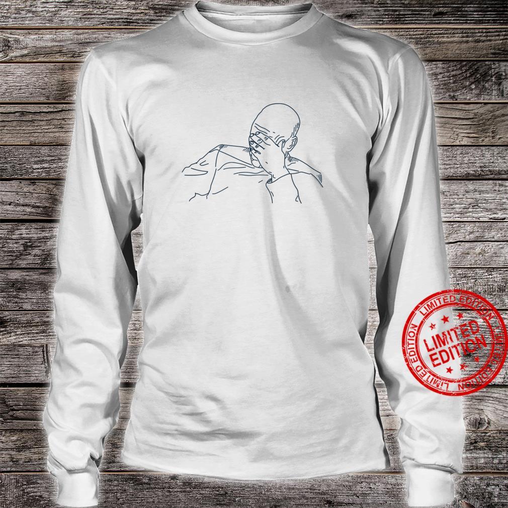 Star Trek Next Generation Picard Face Palm Shirt long sleeved