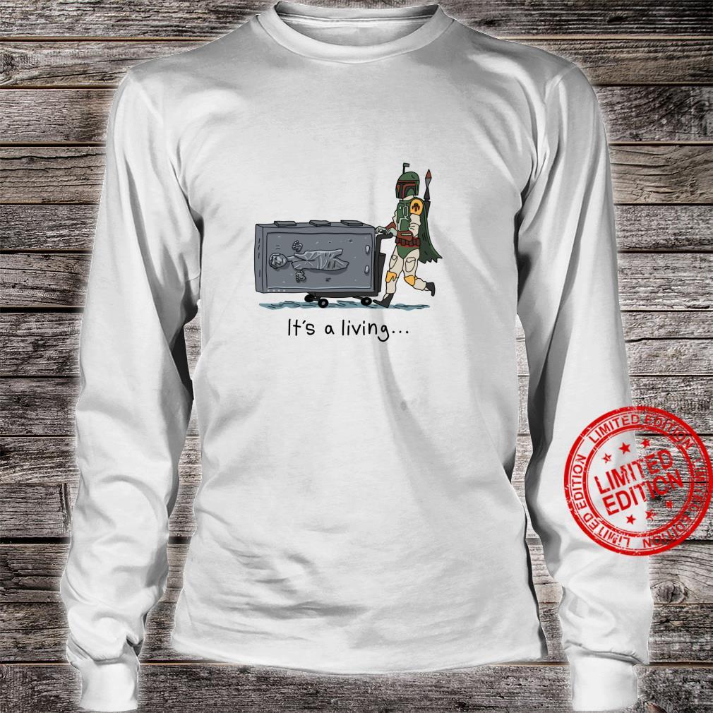 Star Wars Boba Fett It's A Living Shirt long sleeved