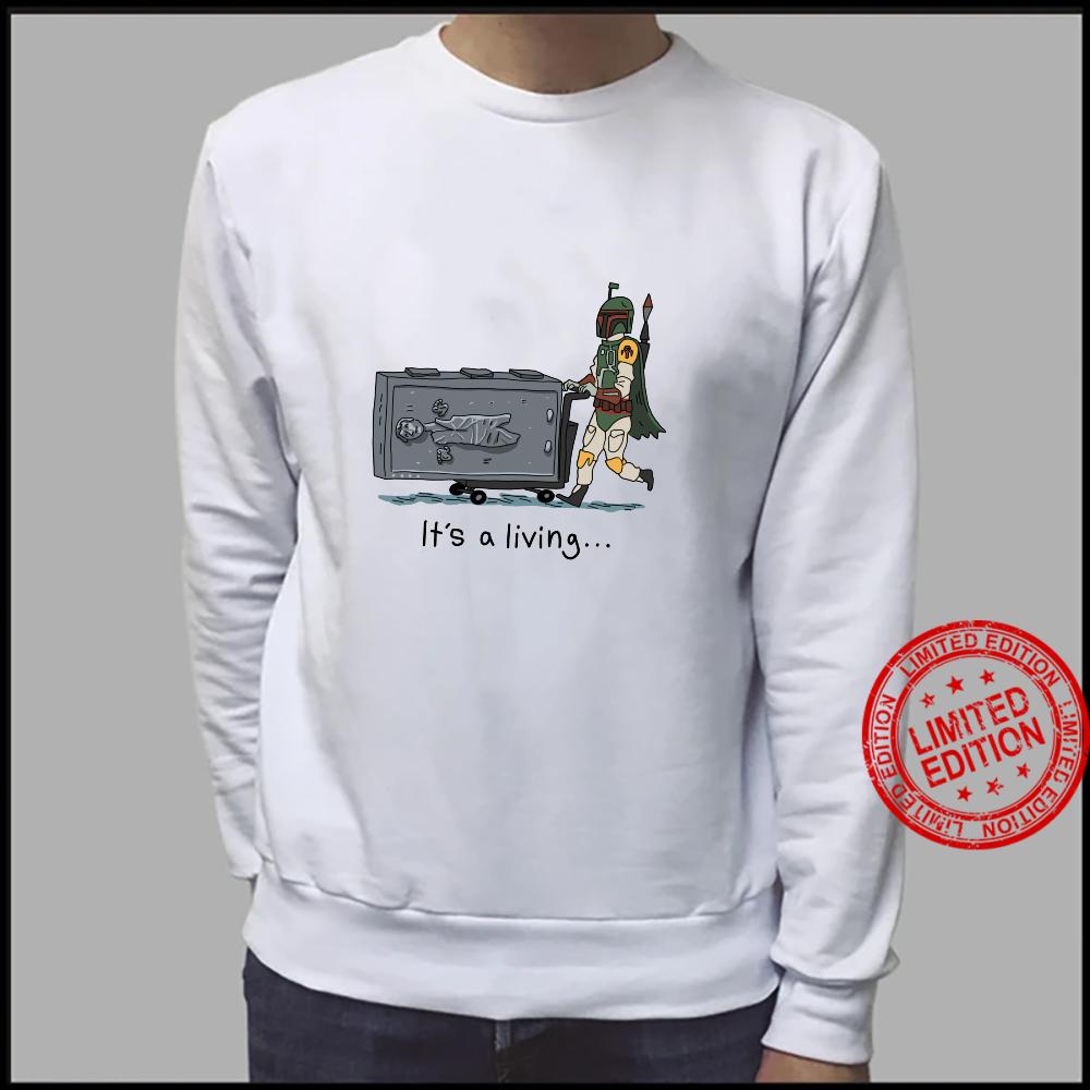 Star Wars Boba Fett It's A Living Shirt sweater
