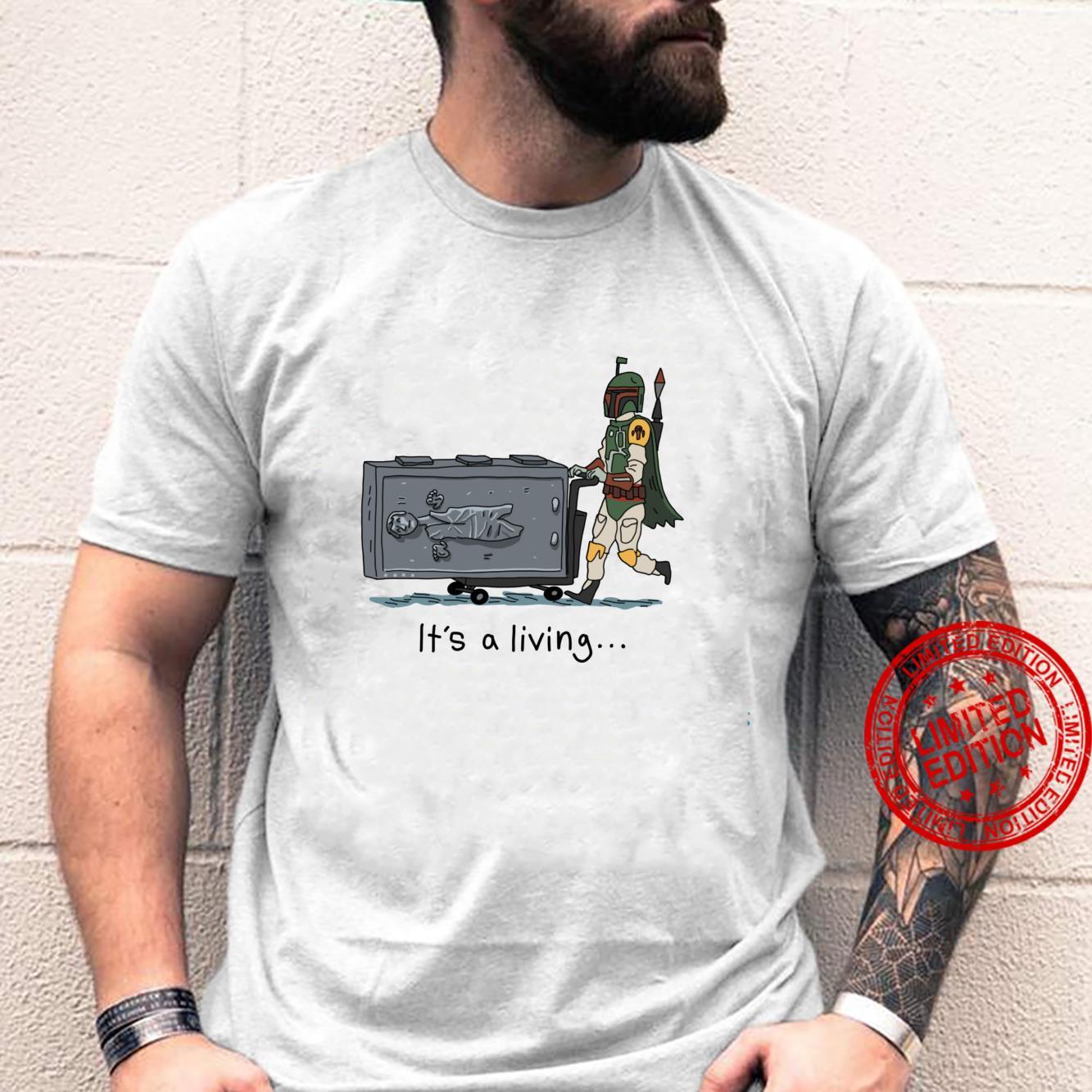 Star Wars Boba Fett It's A Living Shirt