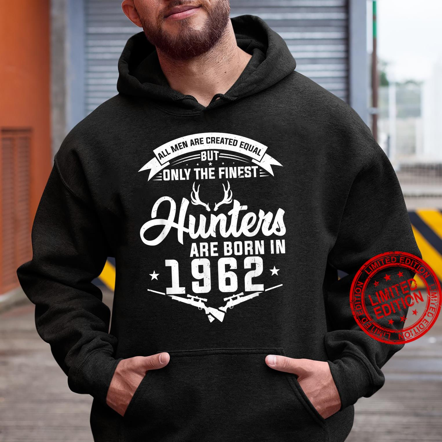 The finest Hunters are born in 1962 Hunting Shirt hoodie