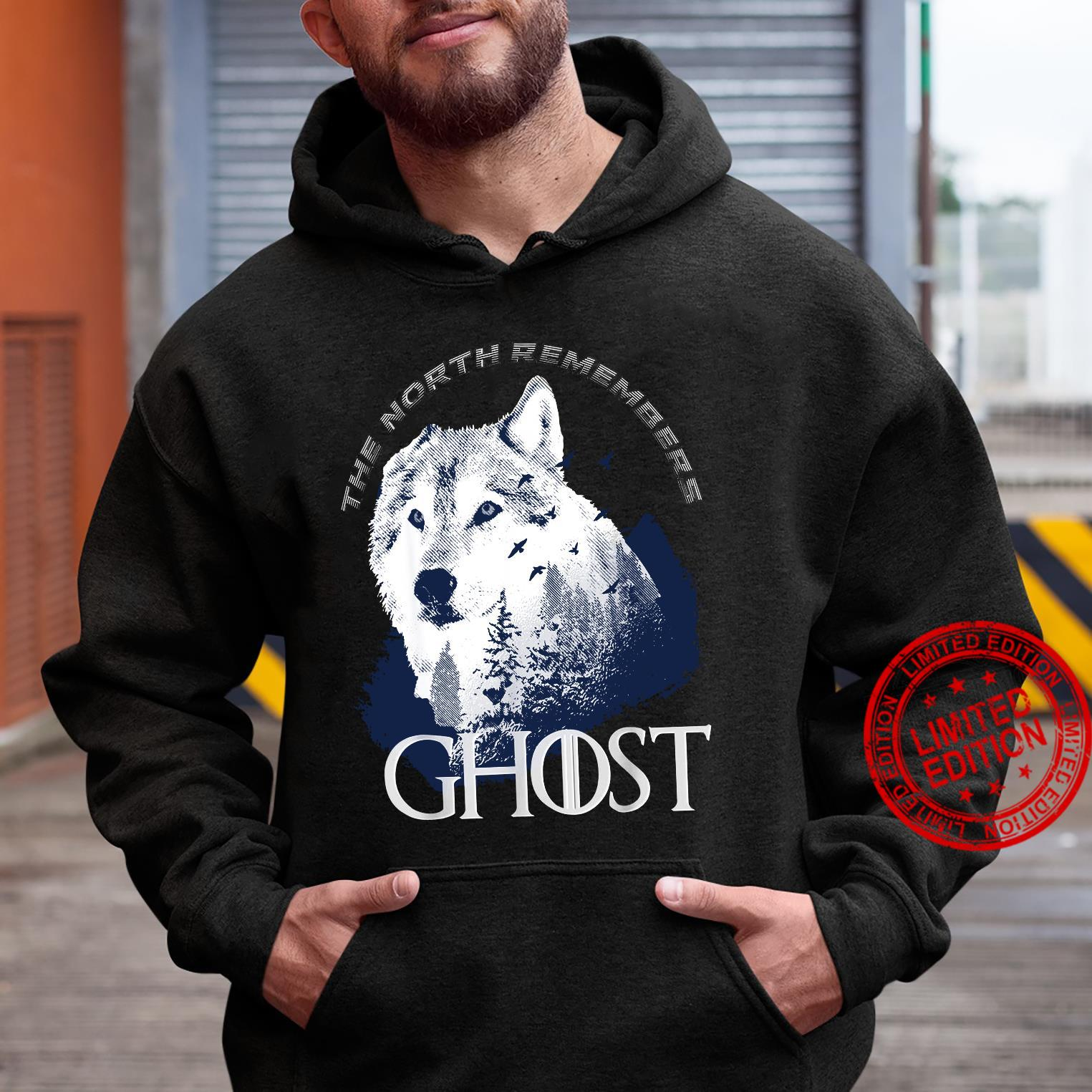 The north remember Ghost Game of Thrones shirt hoodie