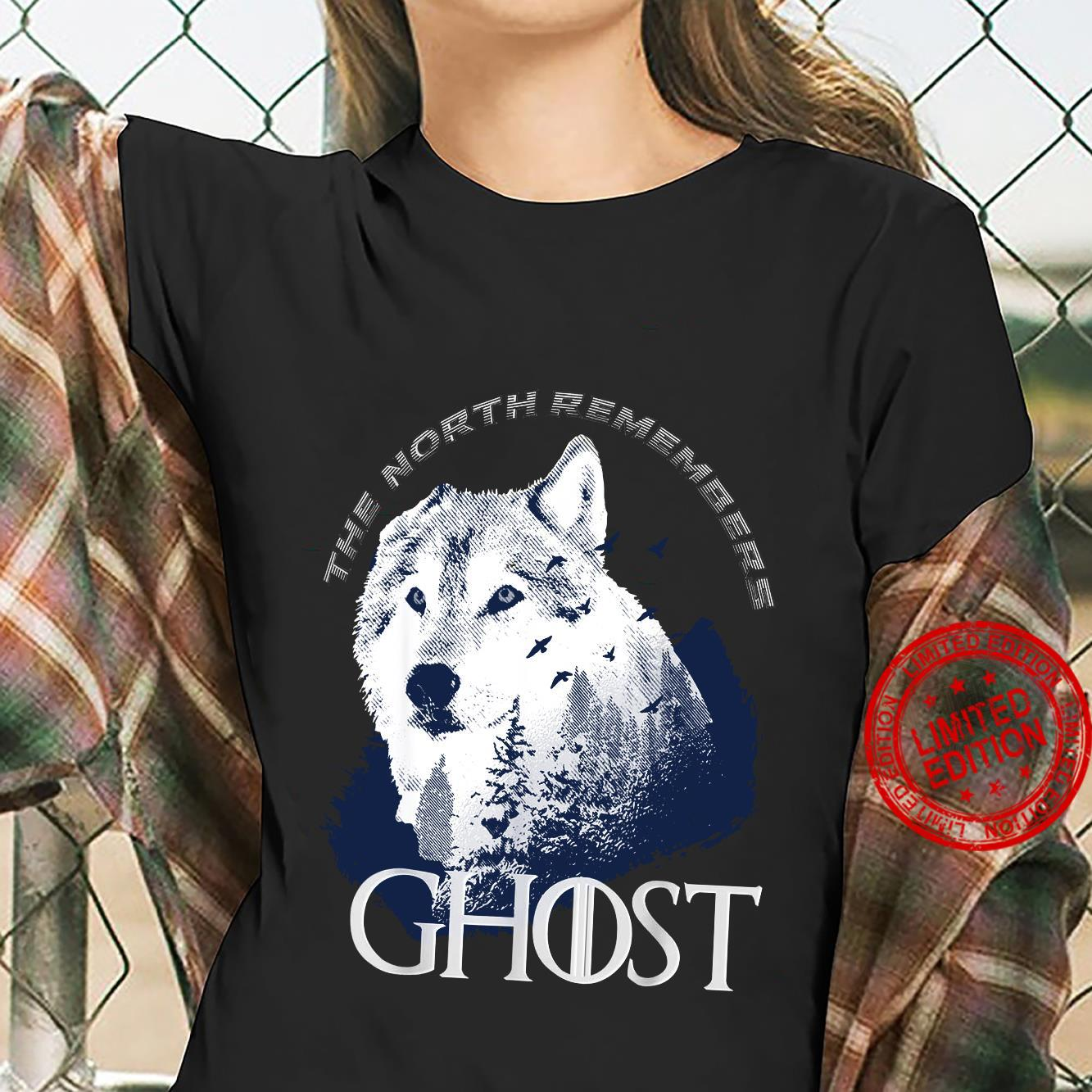 The north remember Ghost Game of Thrones shirt ladies tee