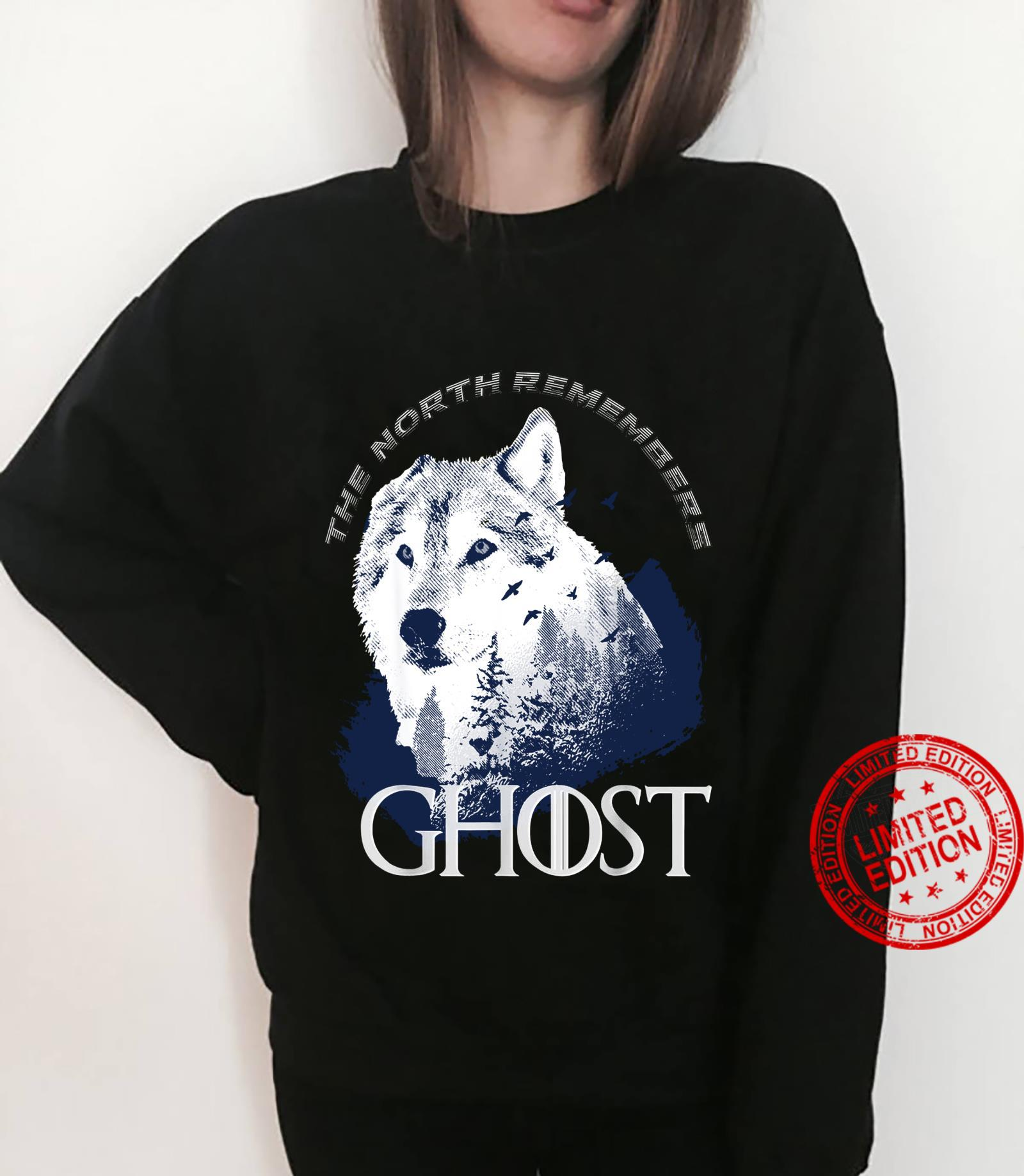 The north remember Ghost Game of Thrones shirt sweater