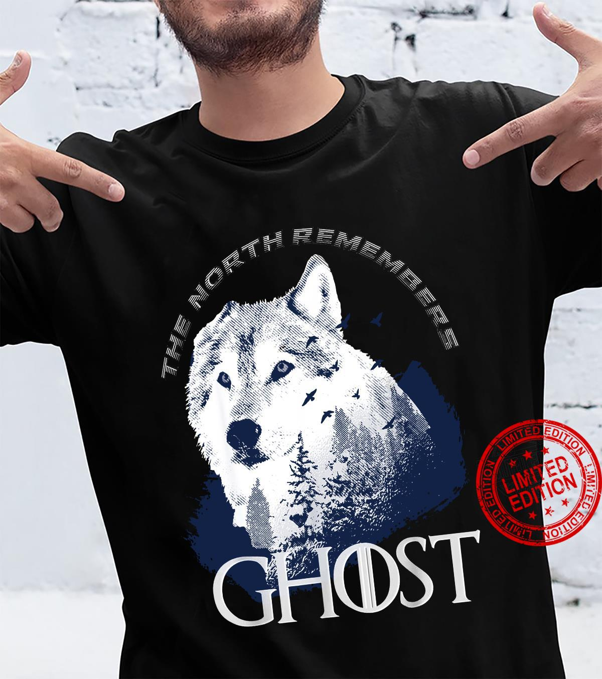 The north remember Ghost Game of Thrones shirt
