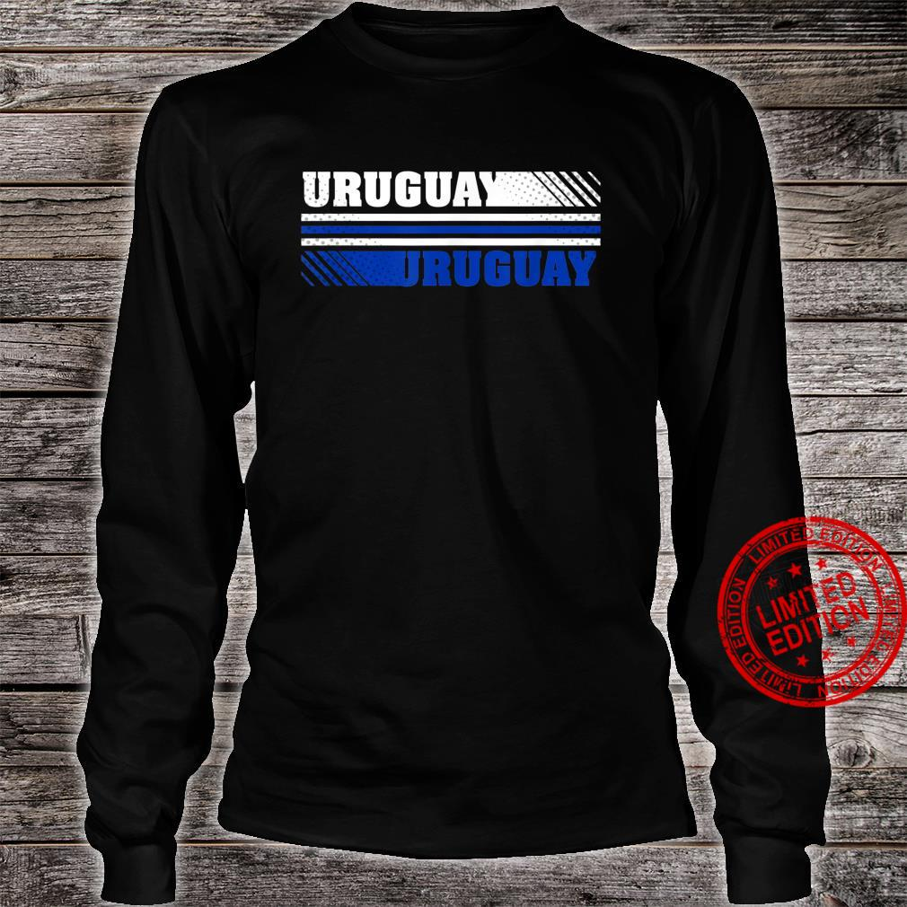 Trendy Uruguay Logo Shirt long sleeved