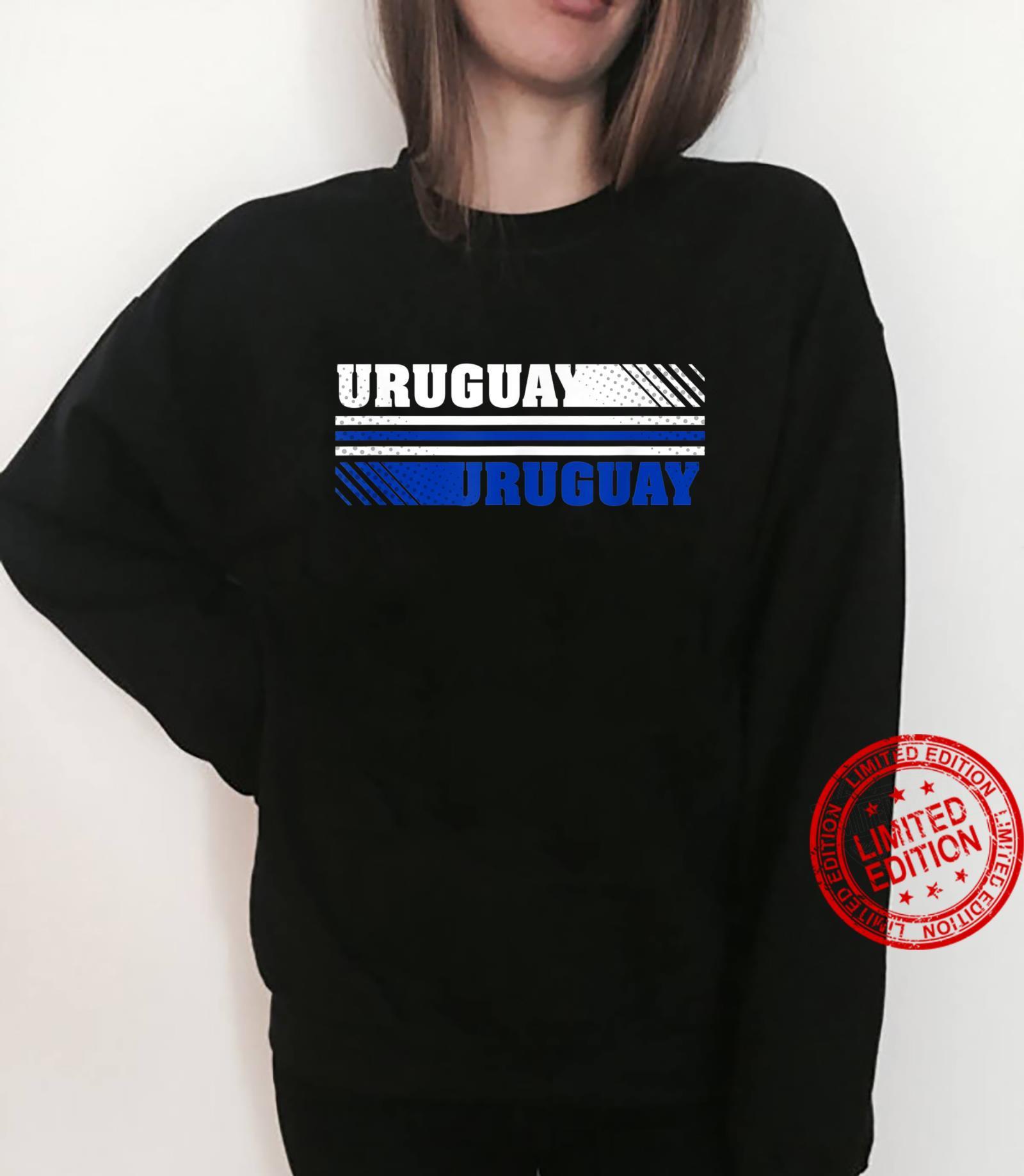 Trendy Uruguay Logo Shirt sweater
