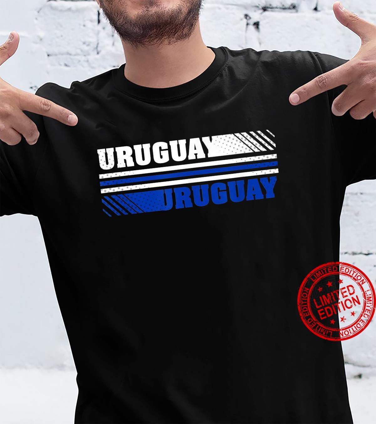 Trendy Uruguay Logo Shirt