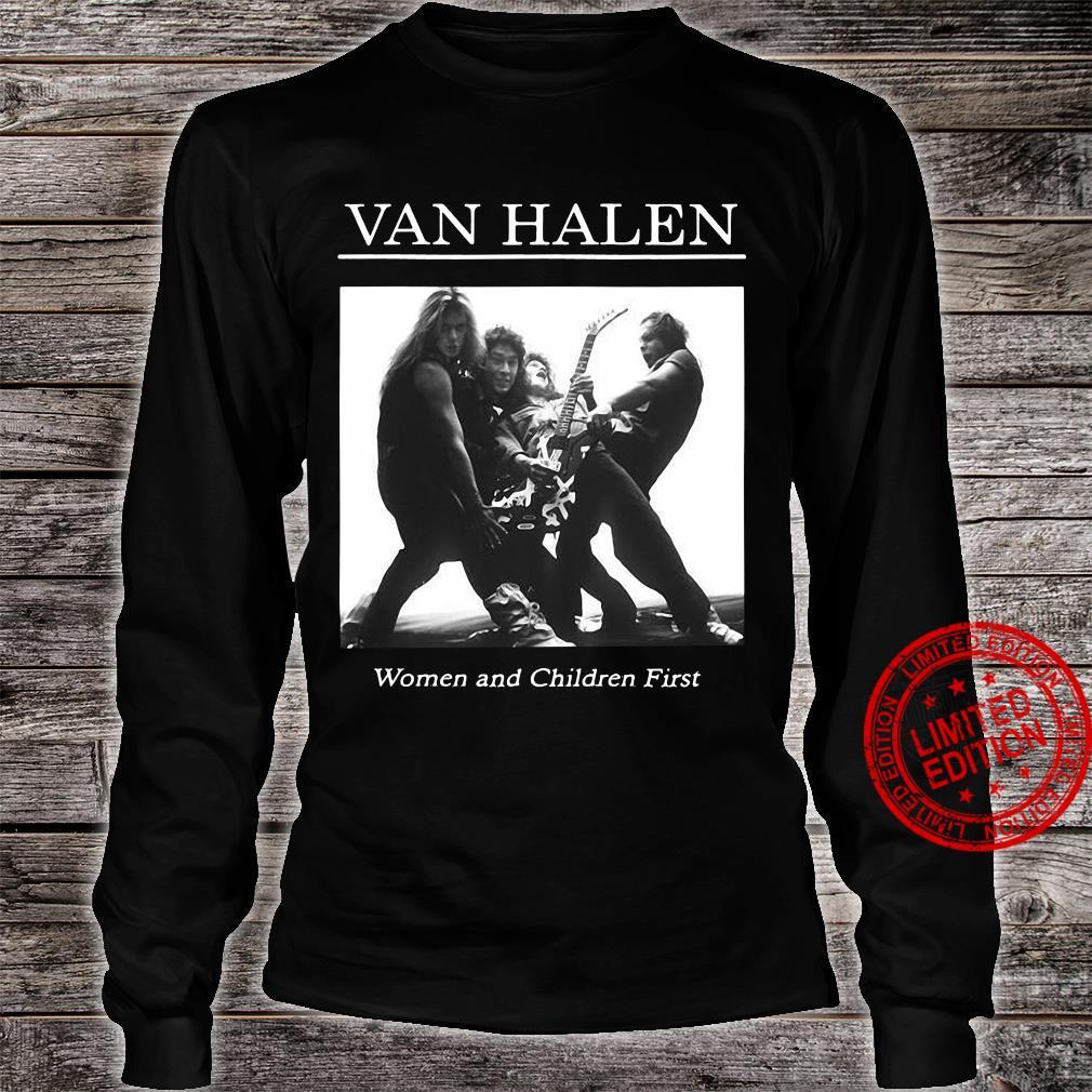Van Halen Women And Children First Shirt long sleeved