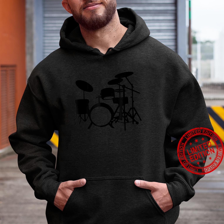 Vintage Drum Set Drummers Design Shirt hoodie