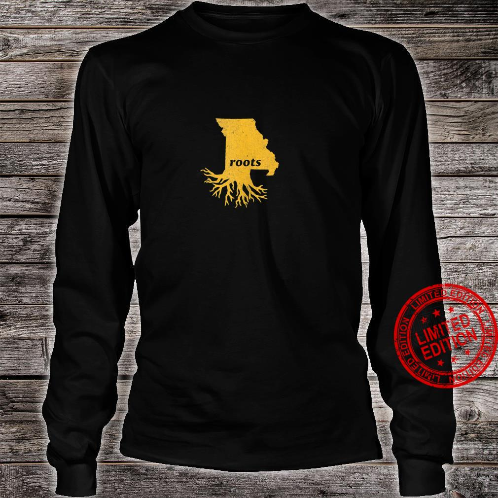 Vintage Home Grown Missouri State Roots Hometown Shirt long sleeved