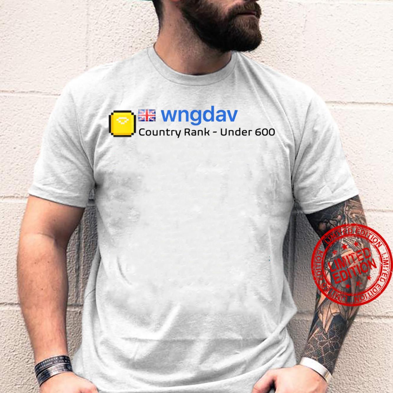 Wngdav Scoresaber Shirt