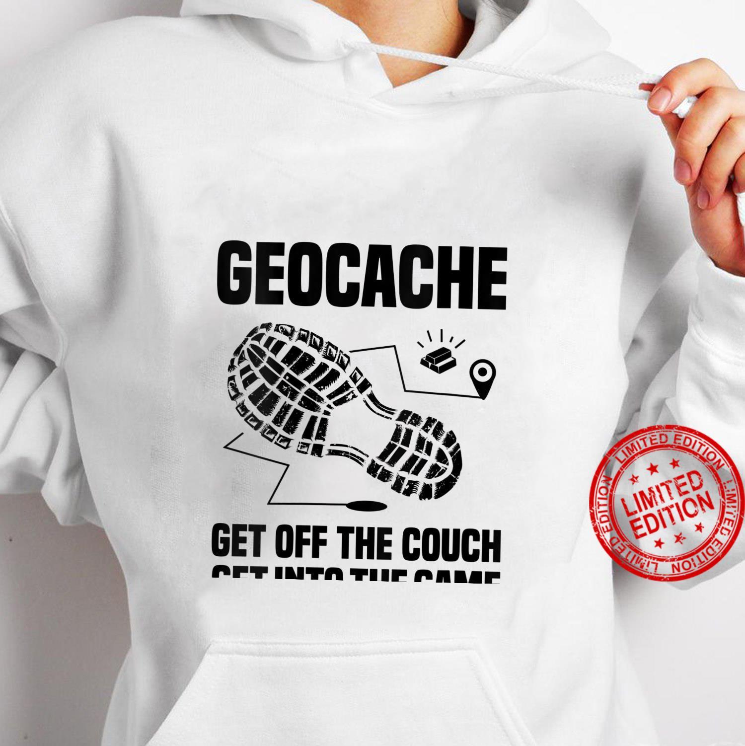 Womens Geocaching Cool Geocache Shirt hoodie