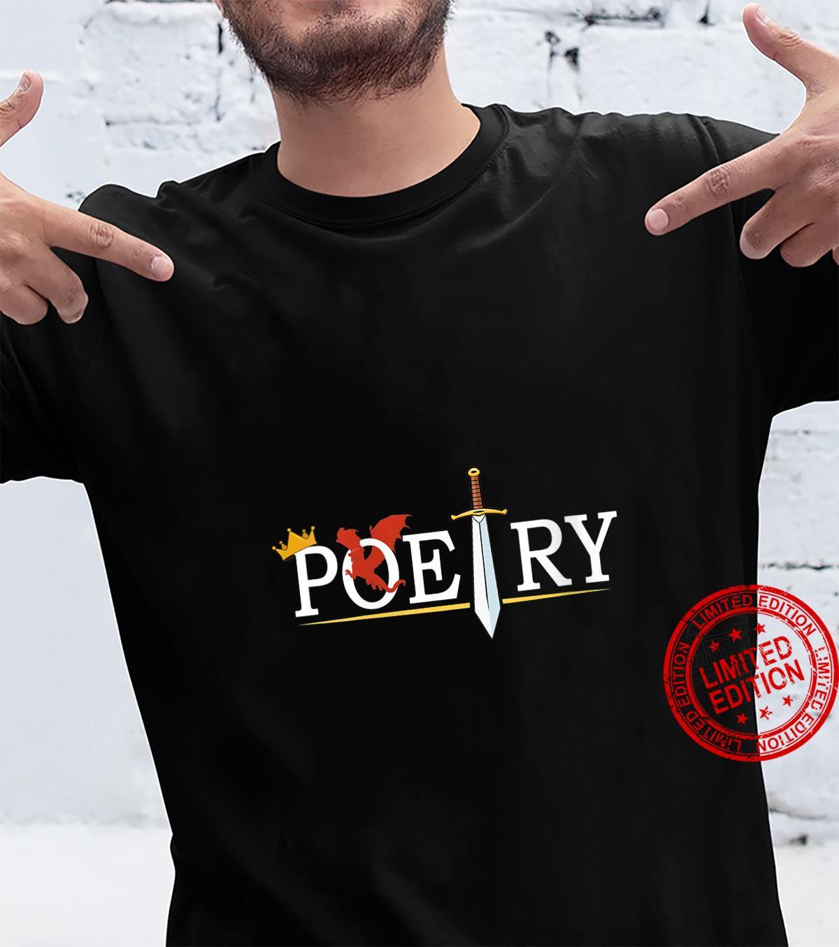Womens Poetry Cute Writer Author Novelist Shirt