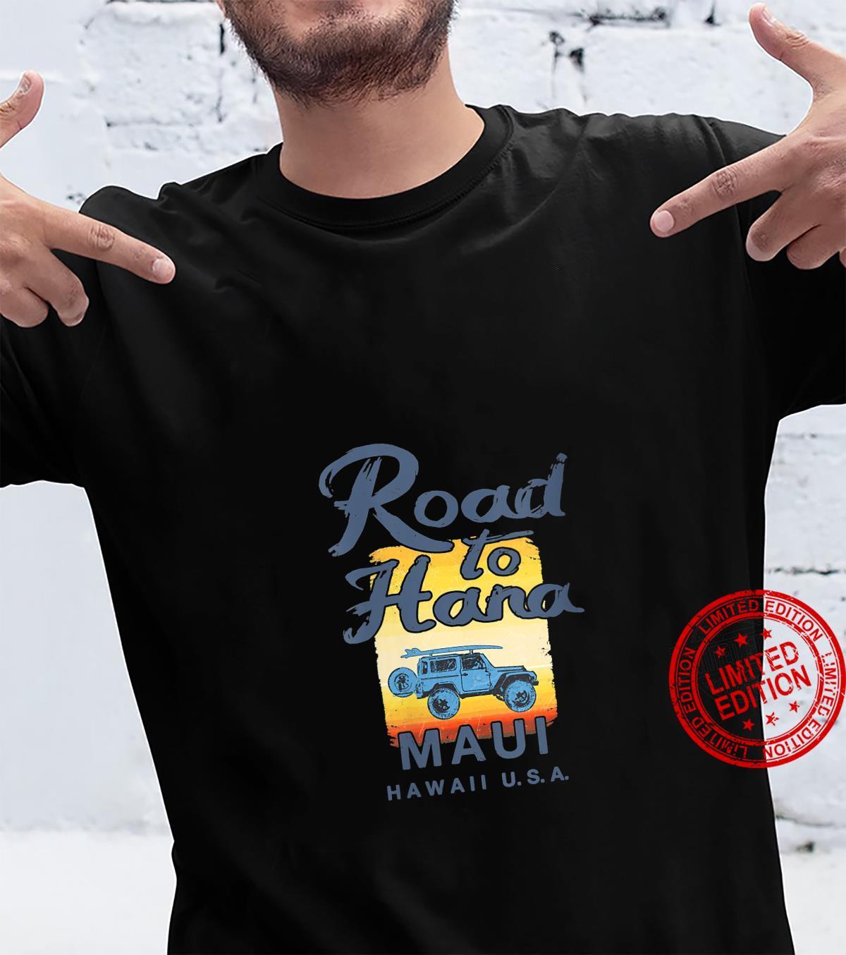 Womens Road to Hana MAUI Hawaii Vintage Shirt