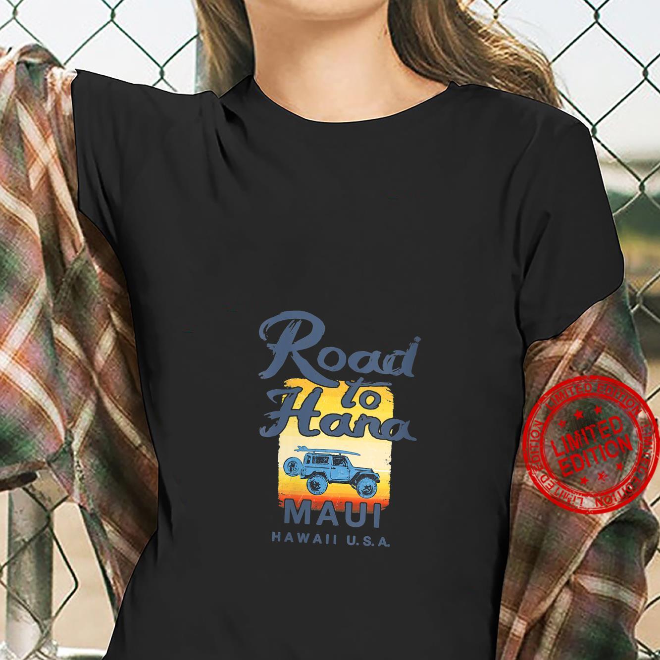 Womens Road to Hana MAUI Hawaii Vintage Shirt ladies tee