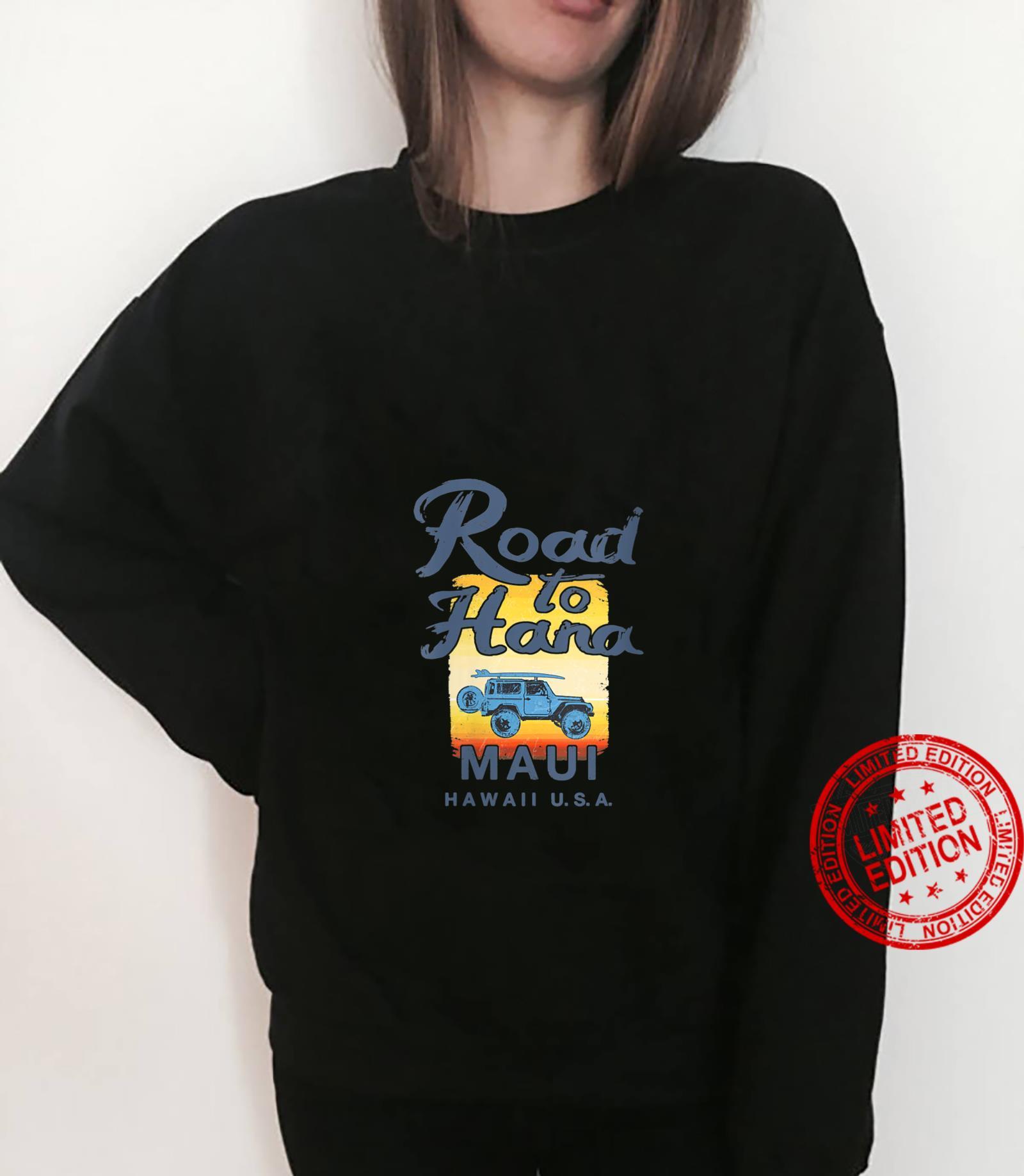 Womens Road to Hana MAUI Hawaii Vintage Shirt sweater