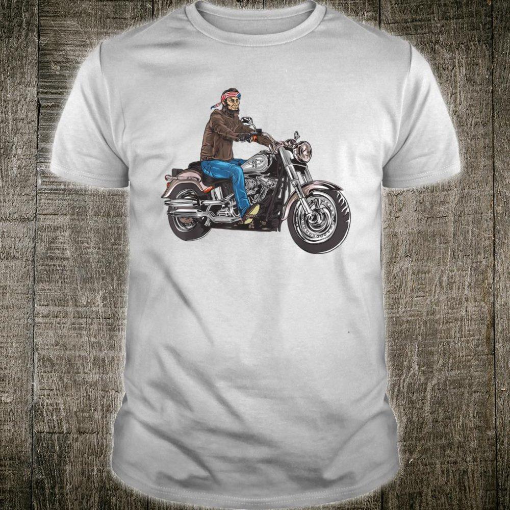 Abe Lincoln Merica Biker Shirt