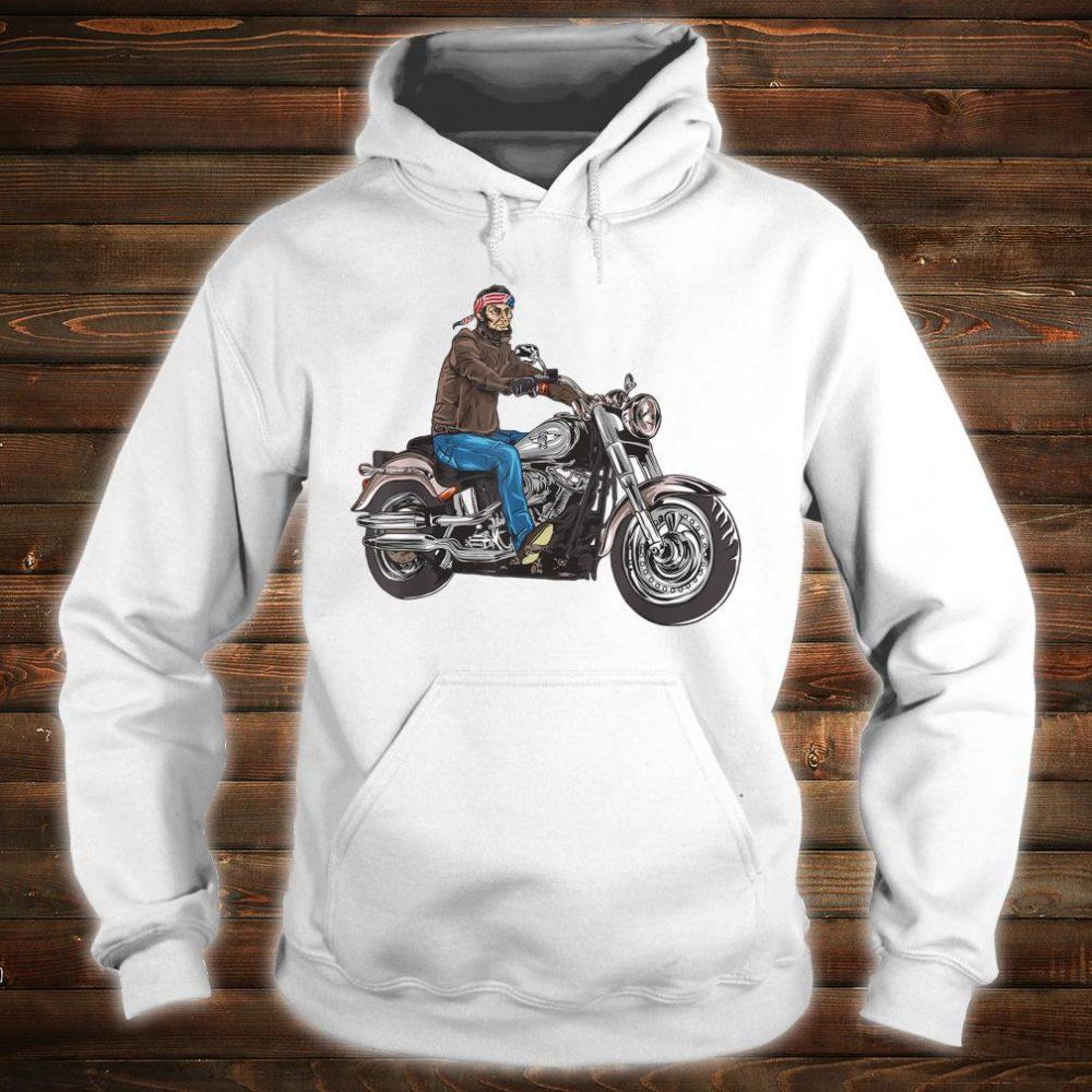Abe Lincoln Merica Biker Shirt hoodie