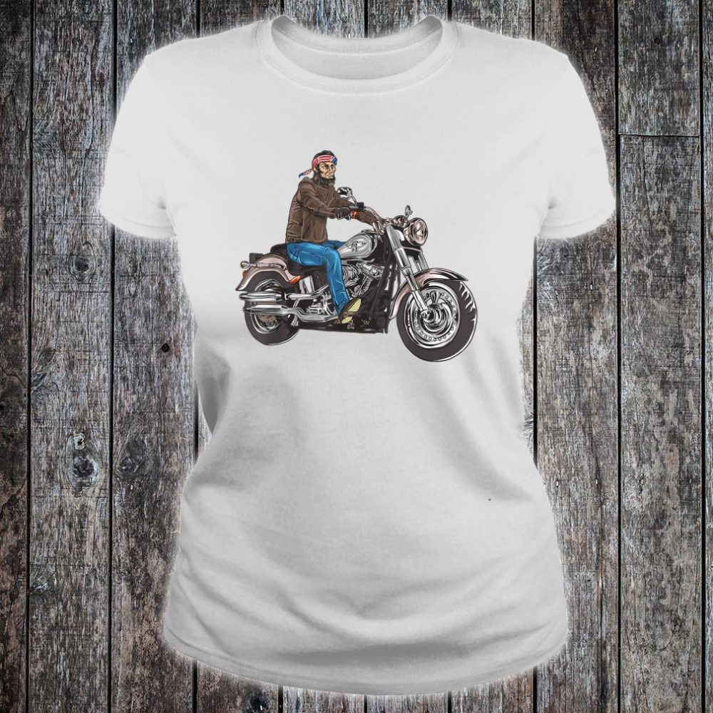 Abe Lincoln Merica Biker Shirt ladies tee