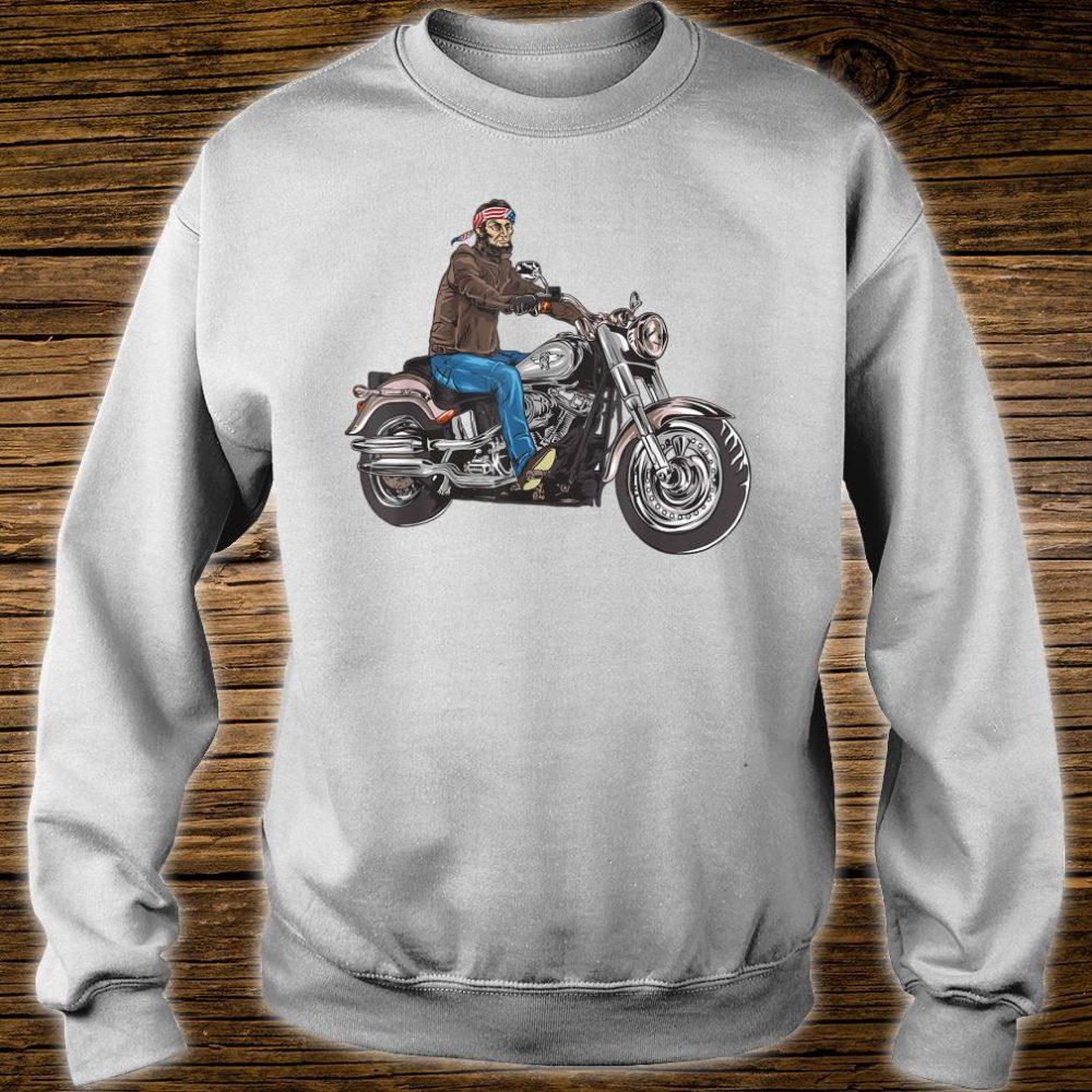 Abe Lincoln Merica Biker Shirt sweater