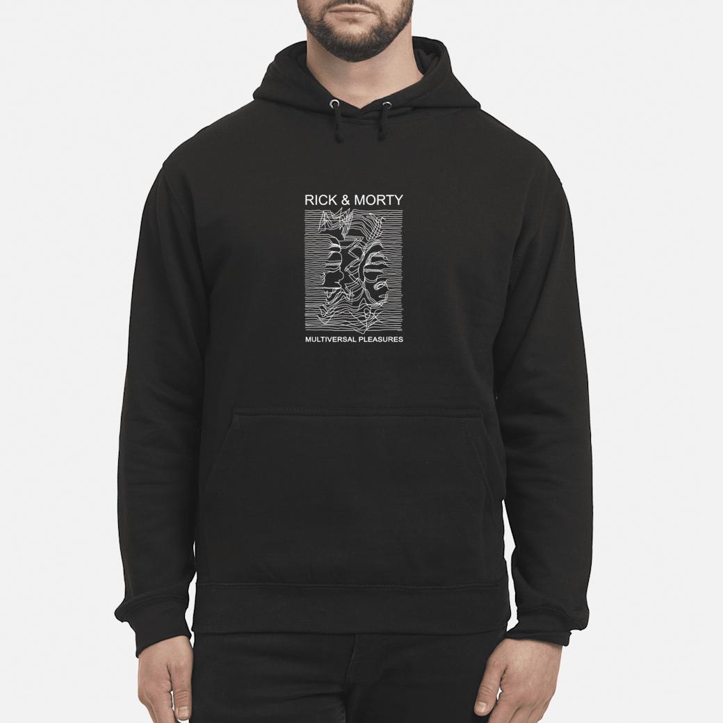 Adult Swim Rick & Morty Multiversal Pleasures Shirt hoodie