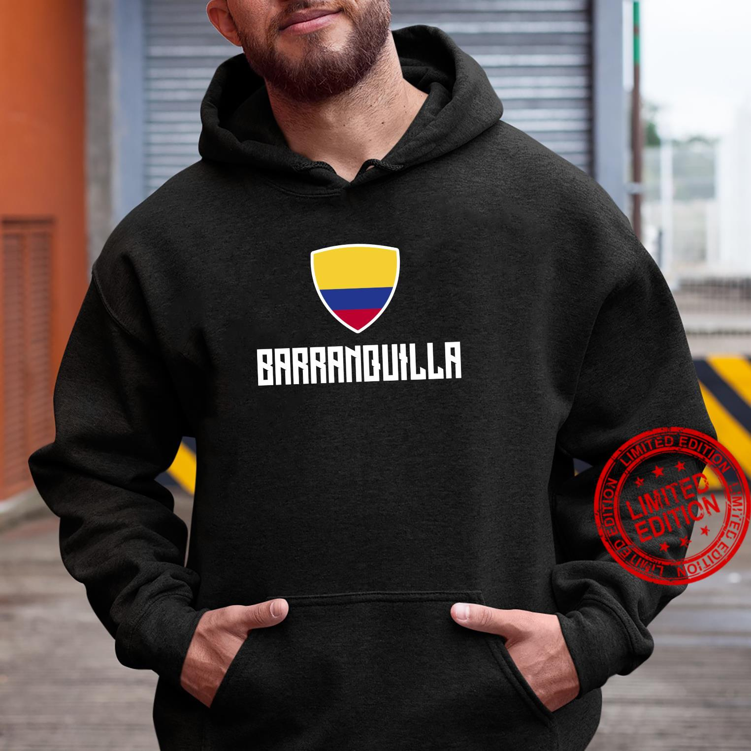 Barranquilla Colombian Flag Roots Heritage Colombia Shirt hoodie