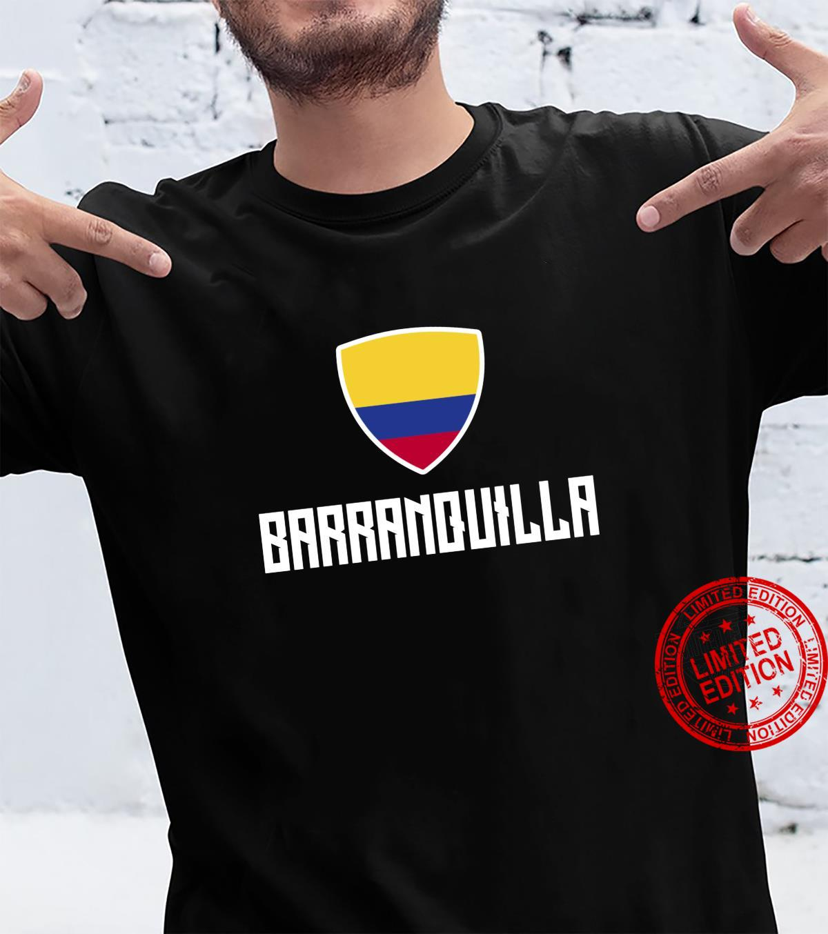 Barranquilla Colombian Flag Roots Heritage Colombia Shirt