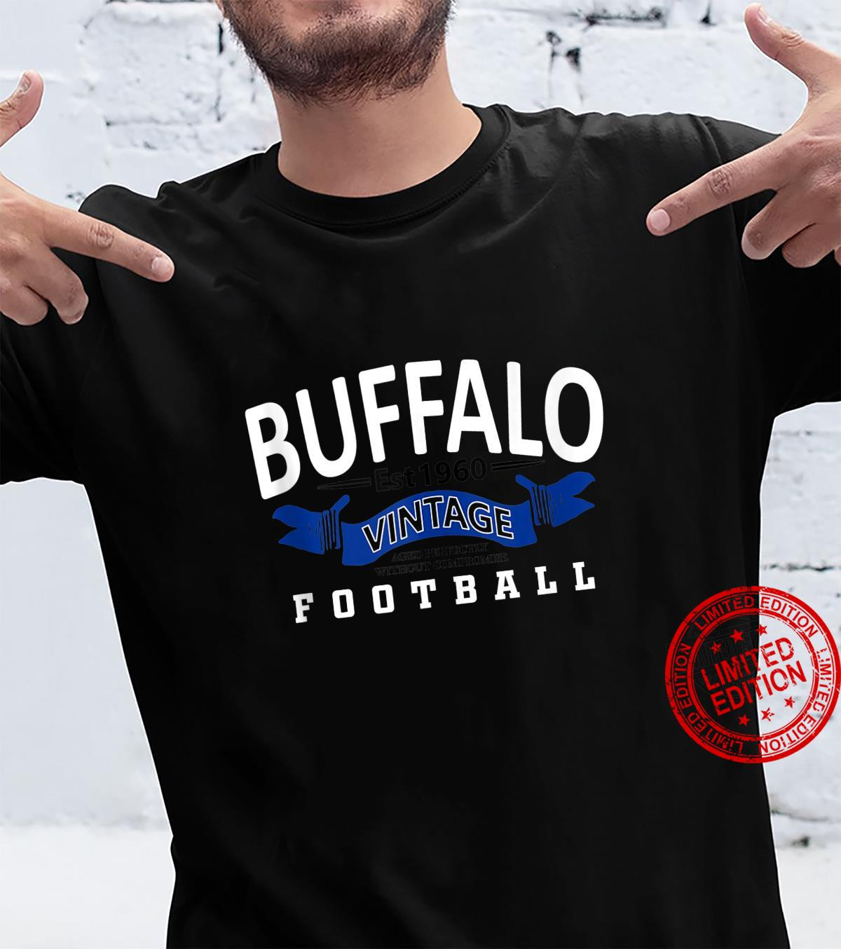 Buffalo Classic Retro 1960 Football Shirt