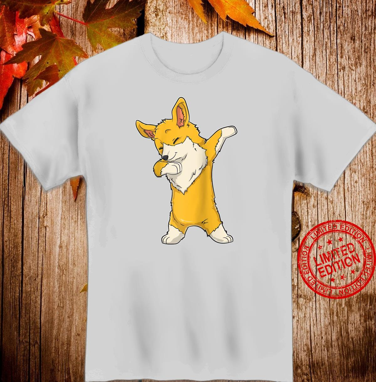 Dabbing Corgi Dog Dab Dance Shirt