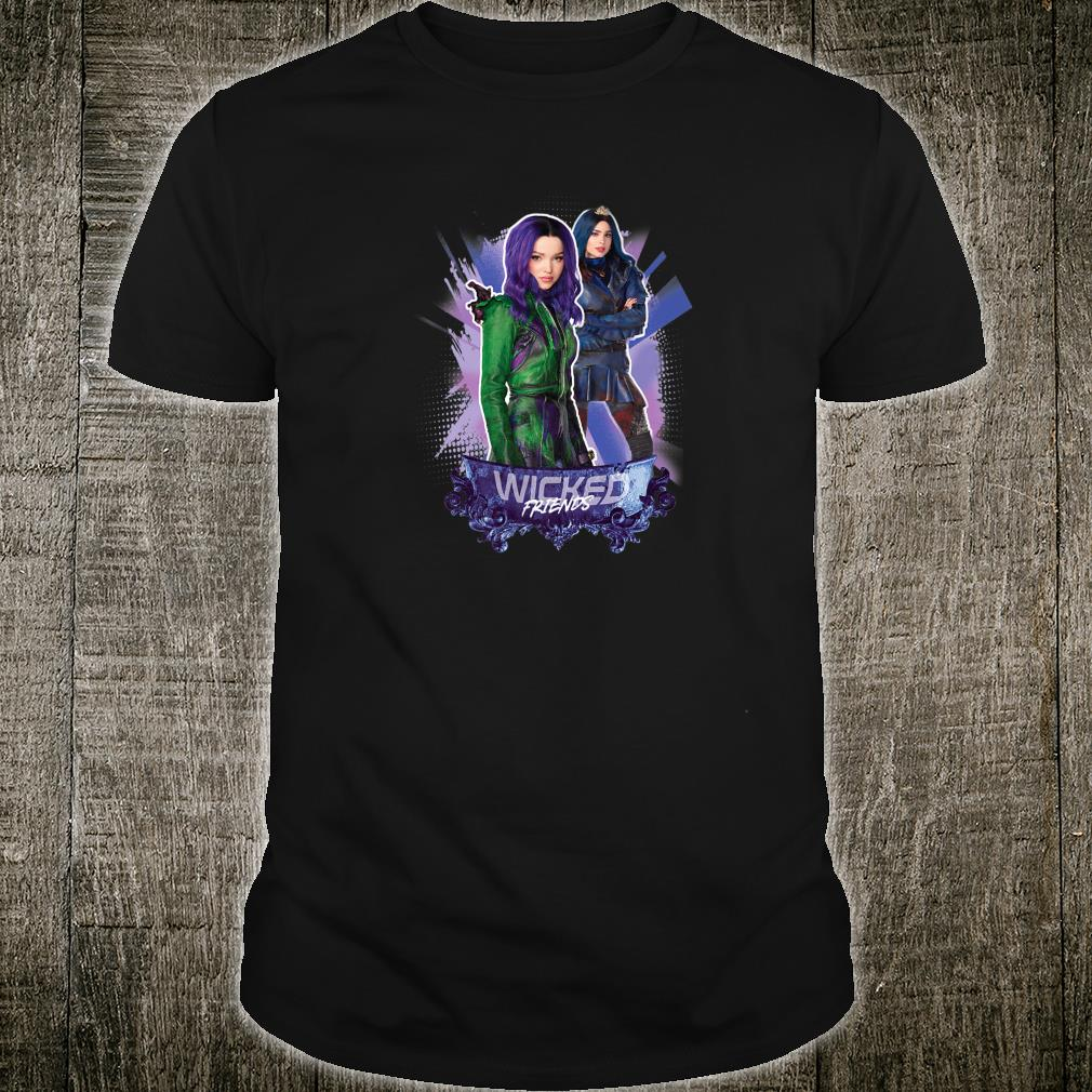 Disney Descendants 3 Mal and Evie Wicked Friends Shirt
