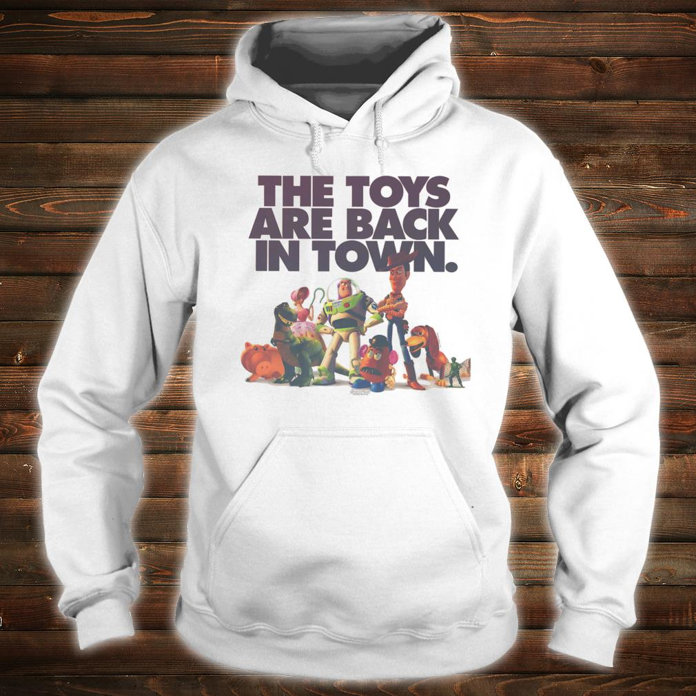 Disney Pixar Toy Story The Toys Are Back In Town Group Shot Shirt hoodie