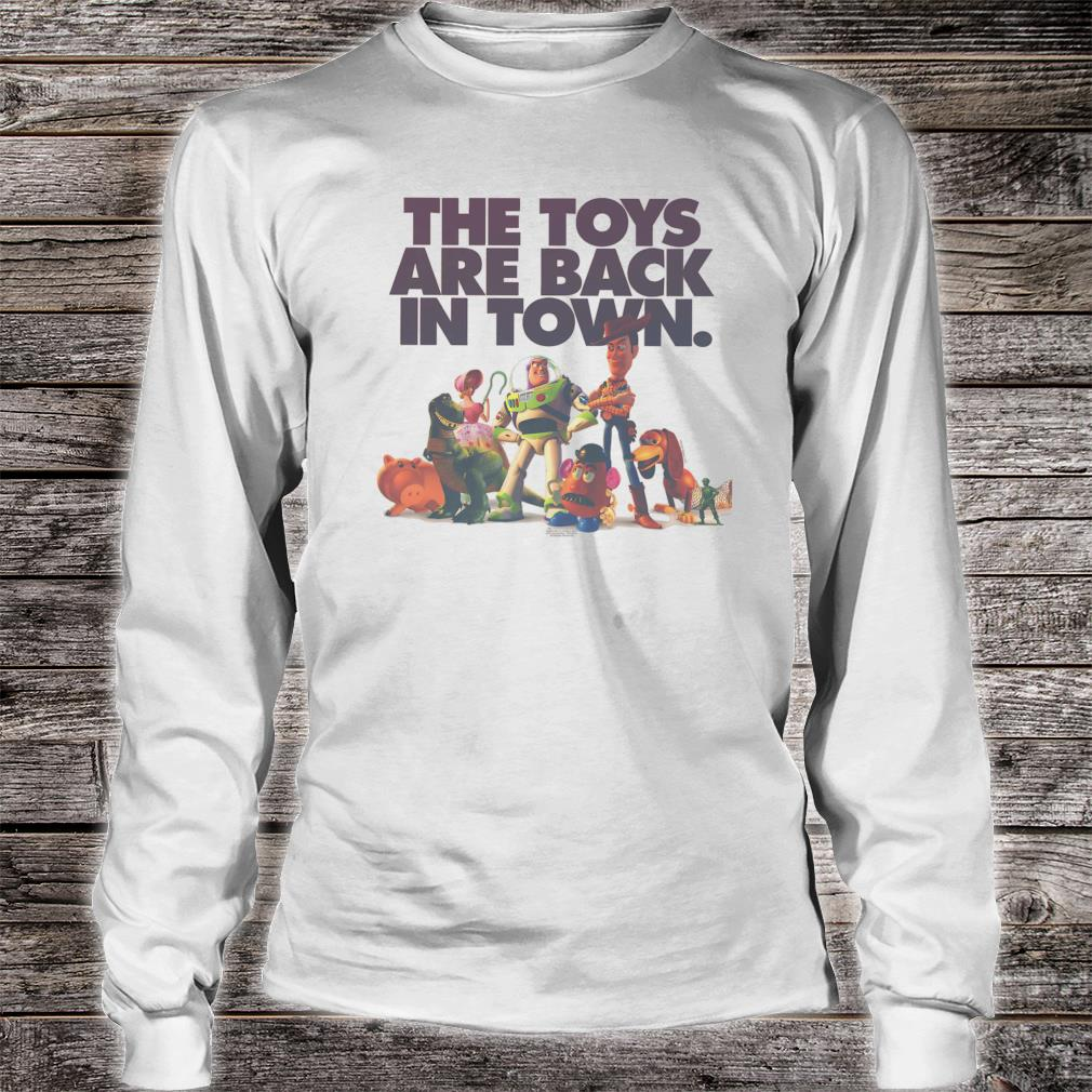 Disney Pixar Toy Story The Toys Are Back In Town Group Shot Shirt long sleeved