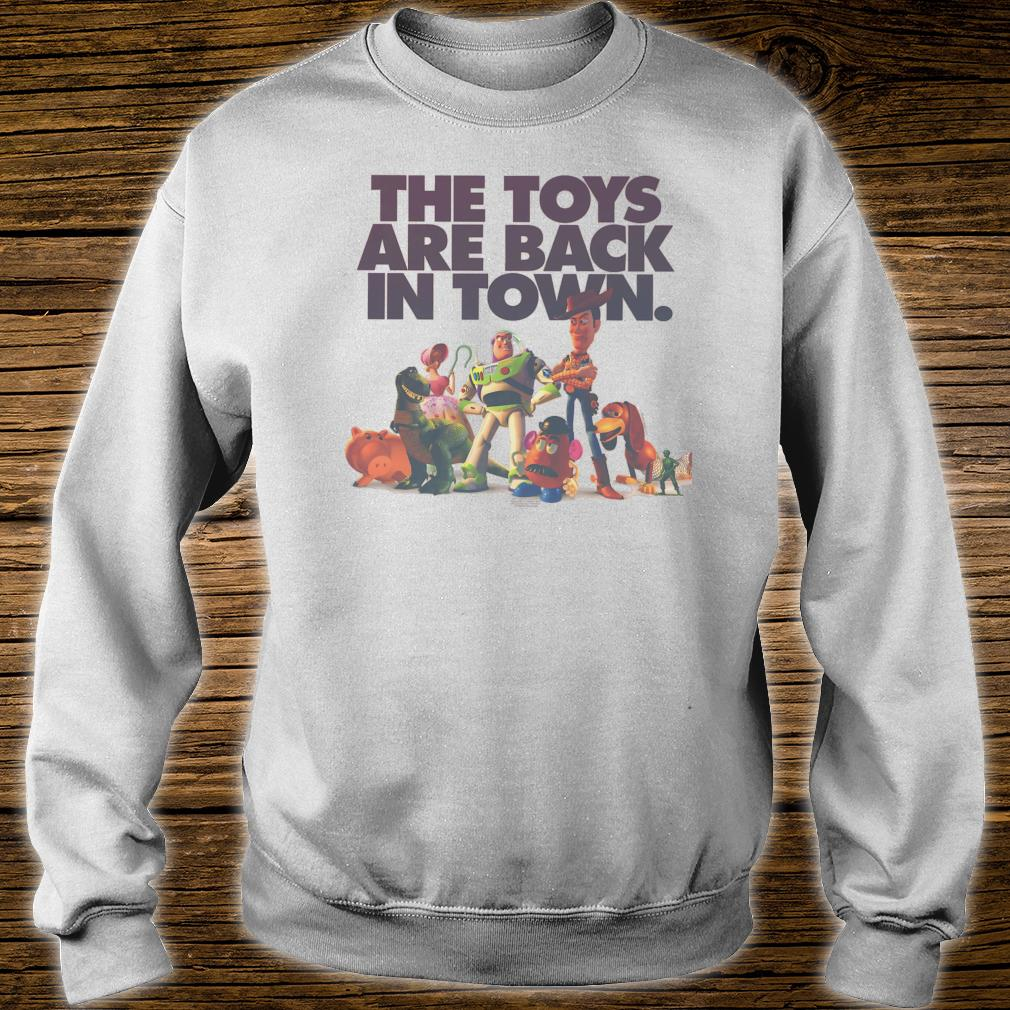 Disney Pixar Toy Story The Toys Are Back In Town Group Shot Shirt sweater