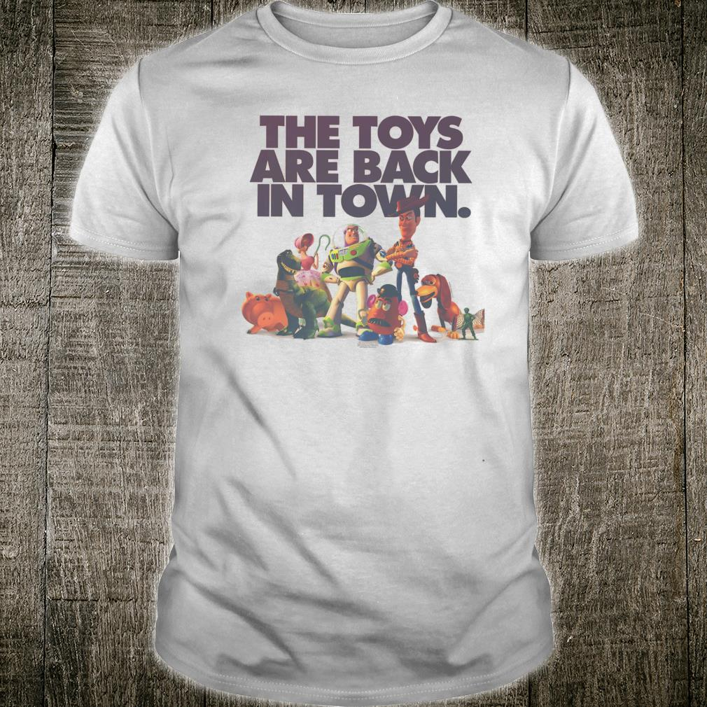 Disney Pixar Toy Story The Toys Are Back In Town Group Shot Shirt