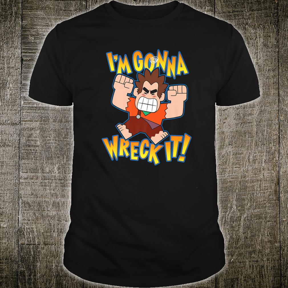 Disney Girls Wreck It Ralph Im Gonna Wreck It T-Shirt