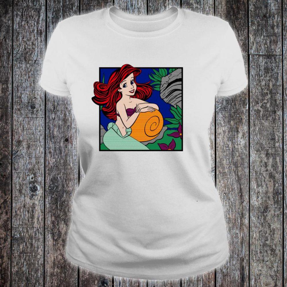 Disney The Little Mermaid Ariel Comic Shirt ladies tee