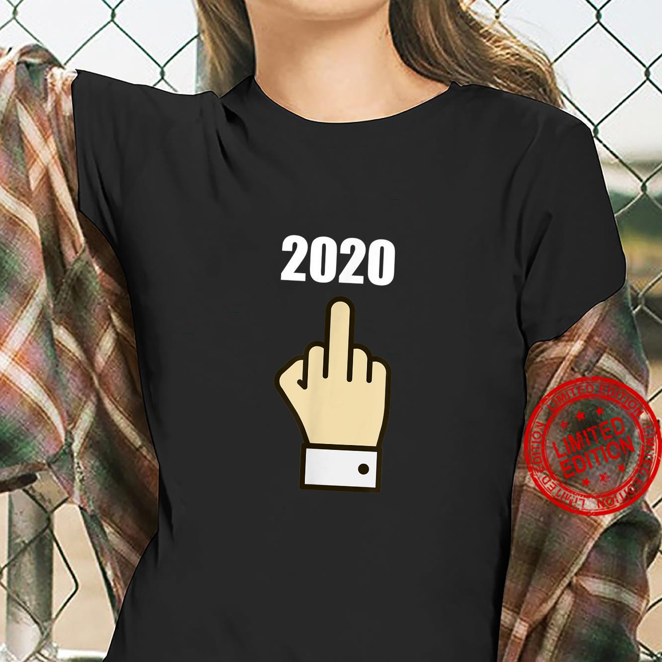 Fuck You 2020 Time For 2021 Worse Year Ever Shirt ladies tee