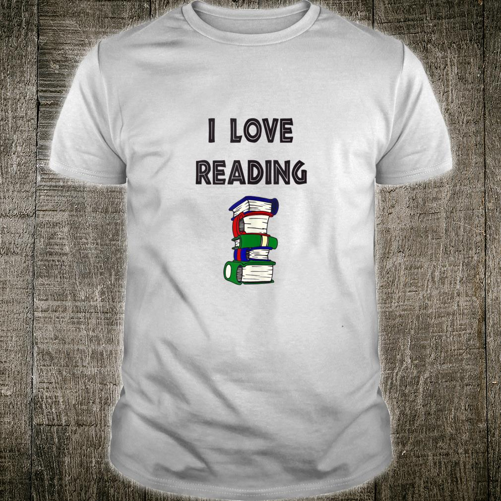 Funny Book I Love Reading Books America Read Day Shirt
