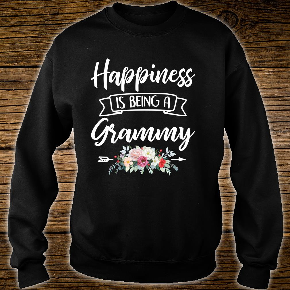 Happiness Is Being A Grandma Shirt Mothers Day Blessed Gigi Shirt sweater
