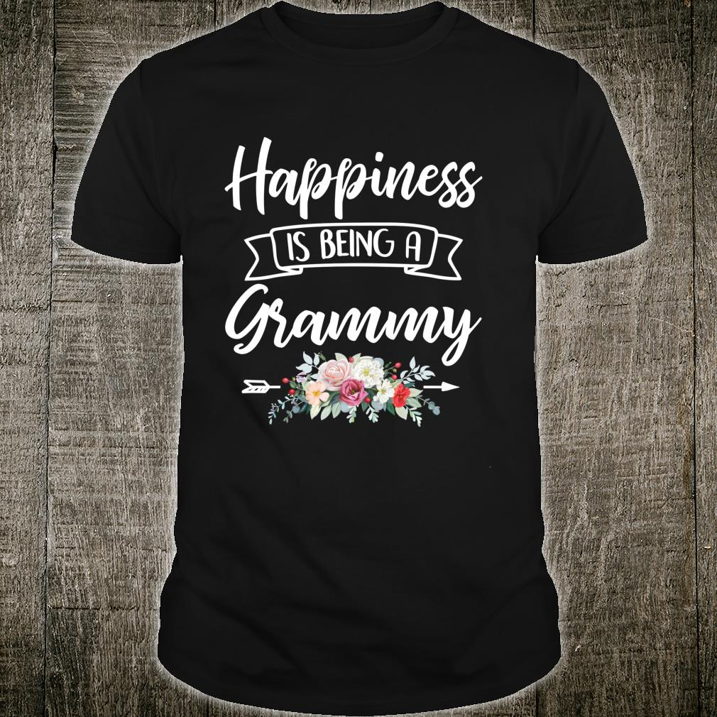 Happiness Is Being A Grandma Shirt Mothers Day Blessed Gigi Shirt