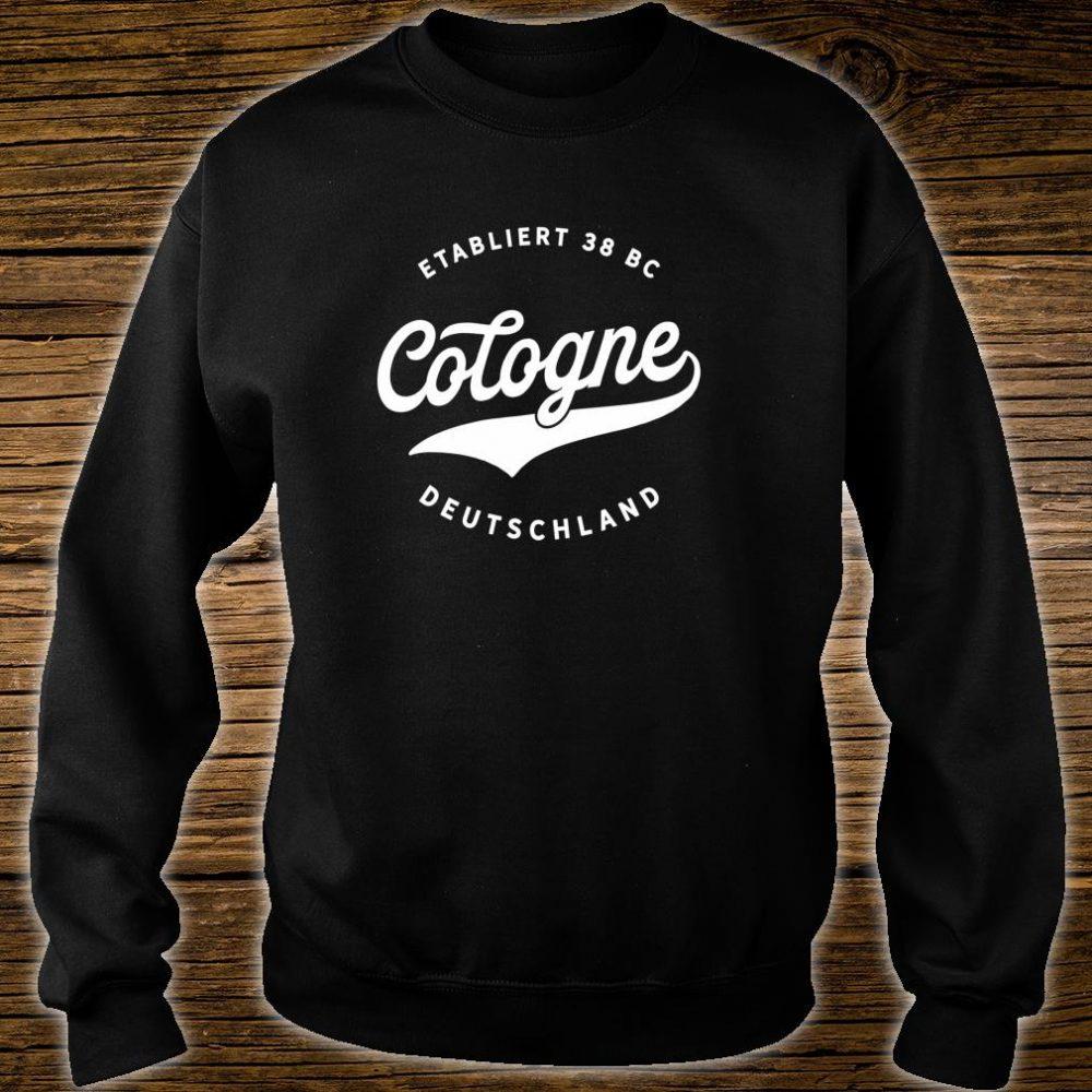 Jahrgang Cologne Deutschland Klassisches Geschenk Shirt sweater
