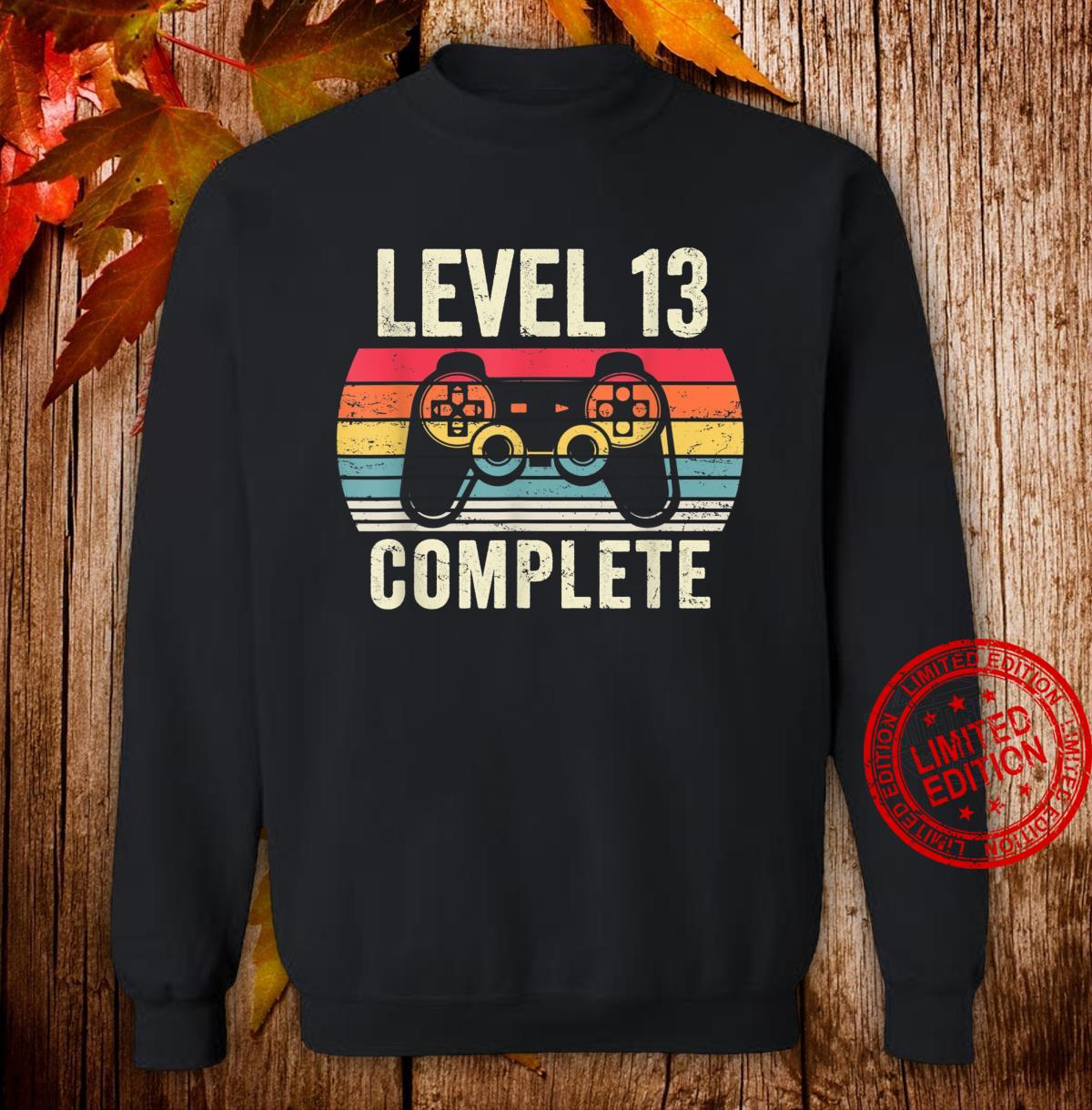 Level 13 Complete Shirt 13 Year Old Vintage 2007 Shirt sweater