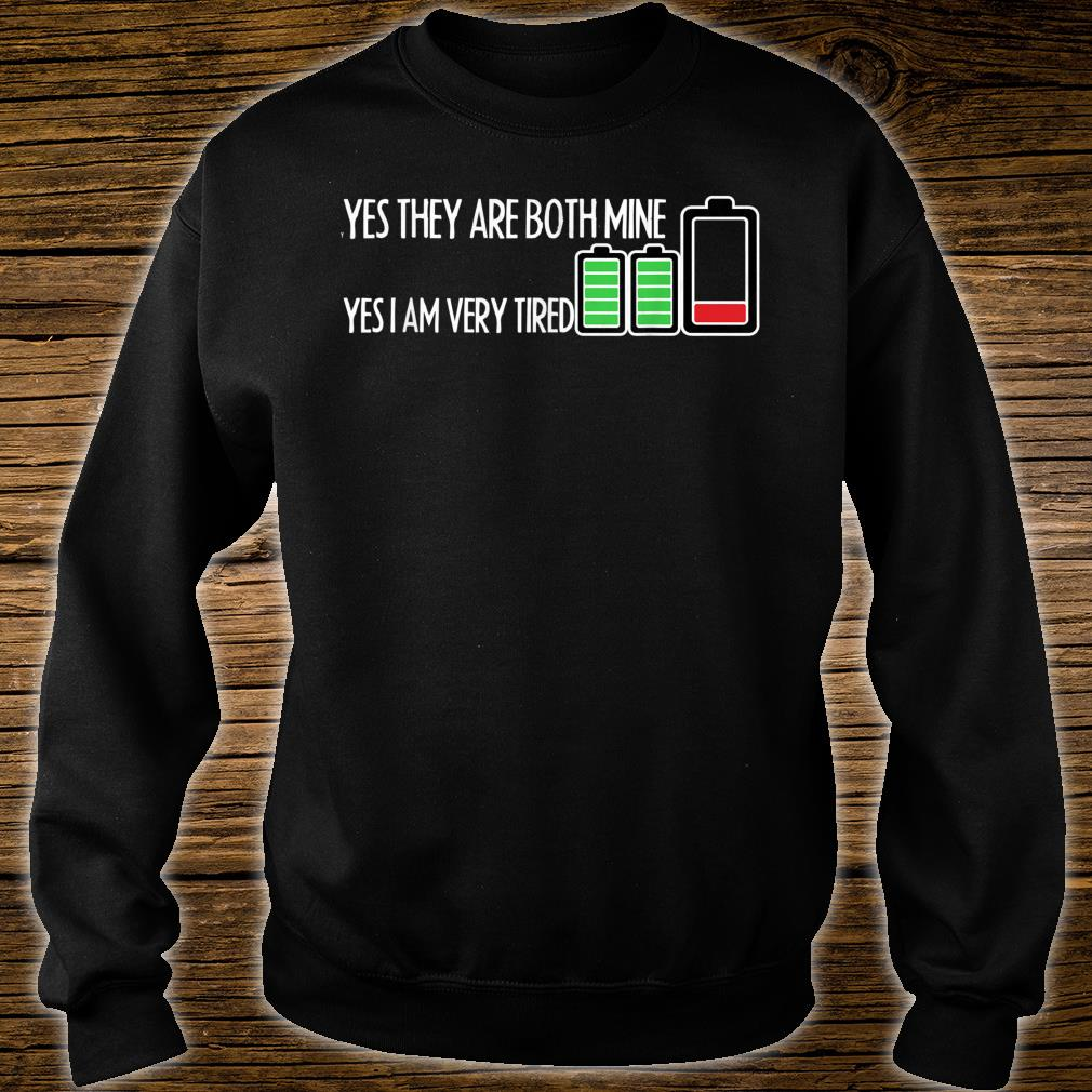 Mens Twins Mother Shirt Father Parents Birth Announcement Gemini Shirt sweater