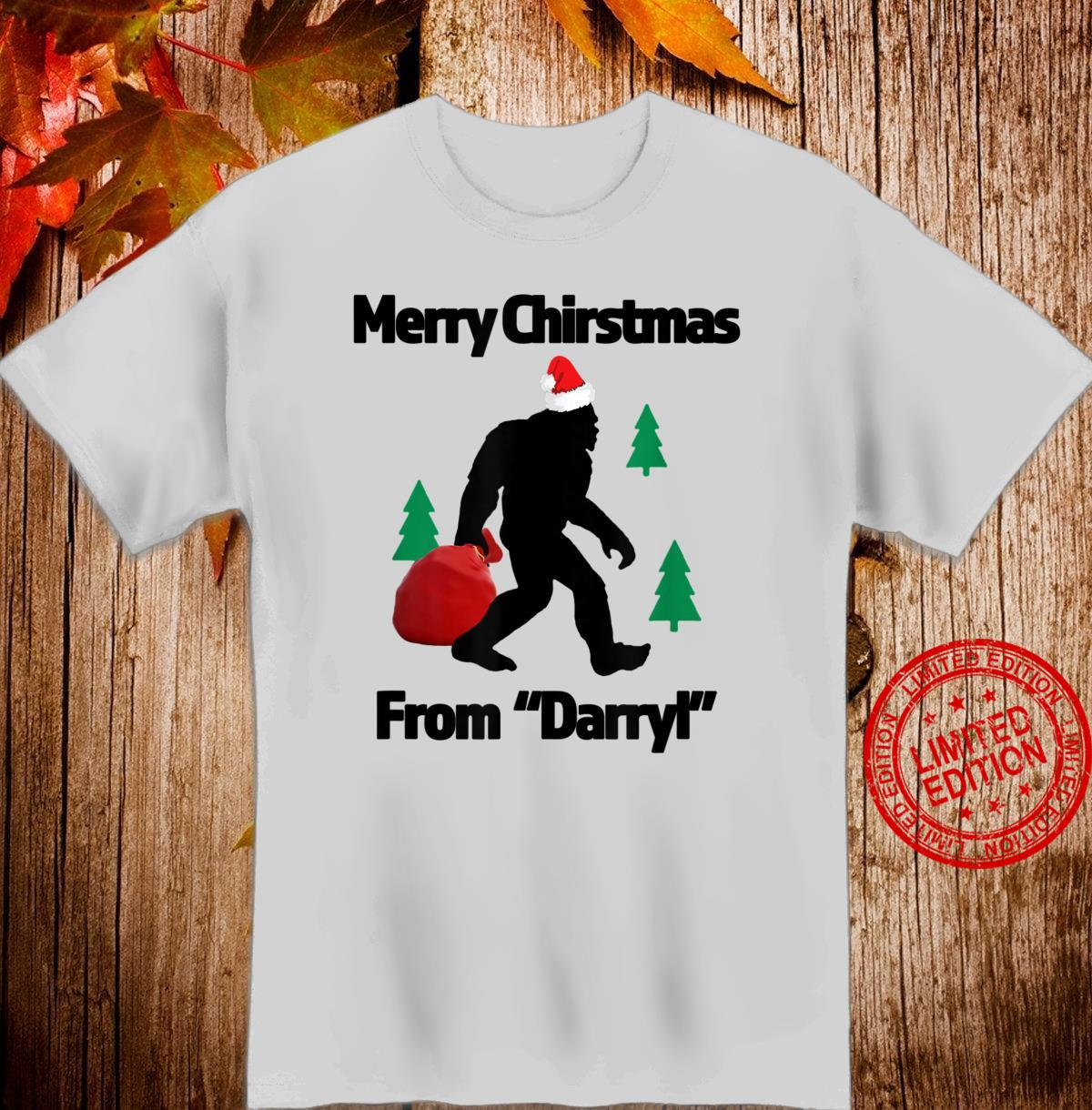 Merry Chiristmas From Darryl Great Christmas for the Shirt
