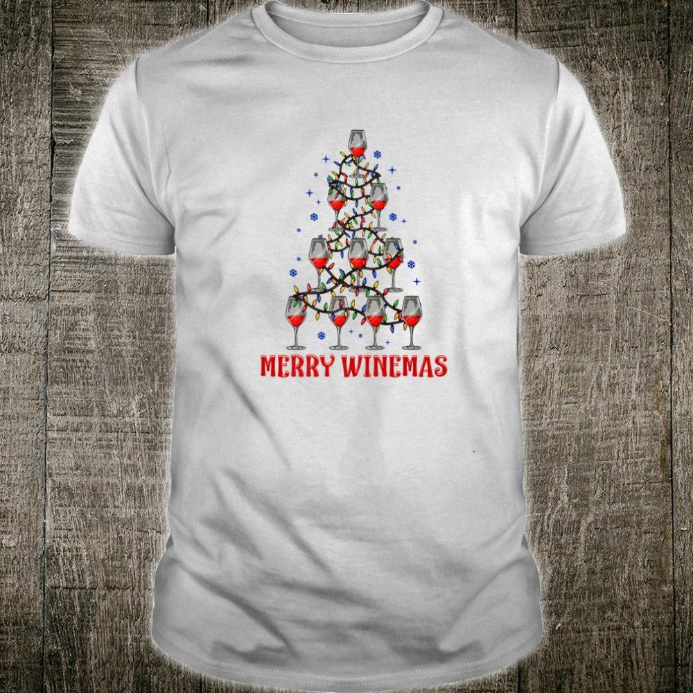 Merry Winemas Ugly Christmas Shirt